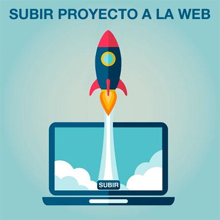 Subir proyecto a la red