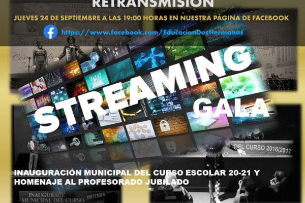 Gala de Inauguración Municipal del Curso Escolar 20 – 21