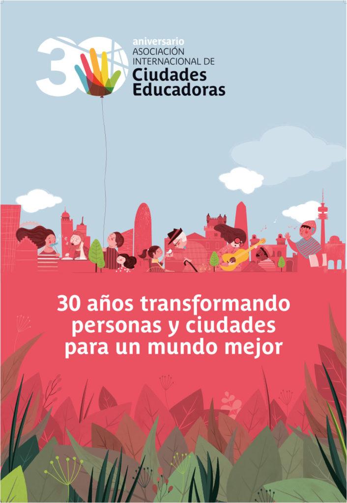 Cartel día Internacional Ciudad Educadora 30 aniversario